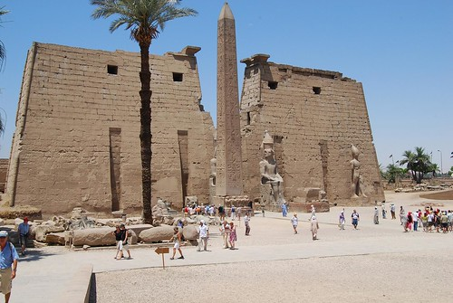 Luxor temple | by timabbott