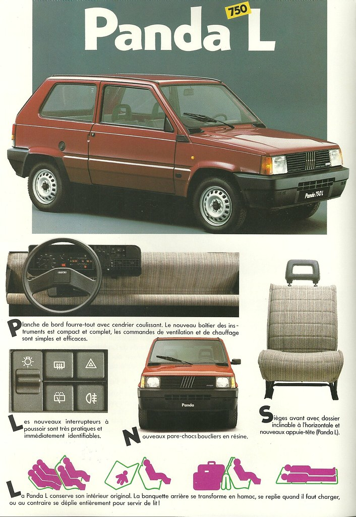 Brochure Fiat Panda Flickr 1987Hedyelyakim 6gb7yf