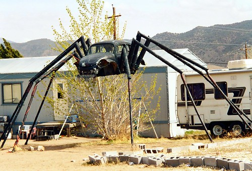 VW Bug spider, Mound House, Nevada | by InnAtElmwood