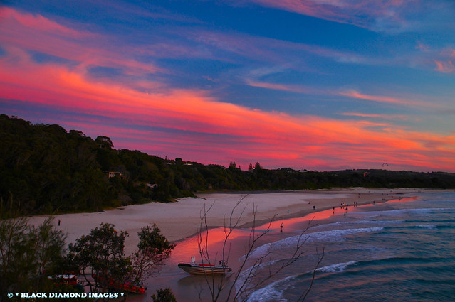 Byron Bay Sunset - From The Pass Lookout