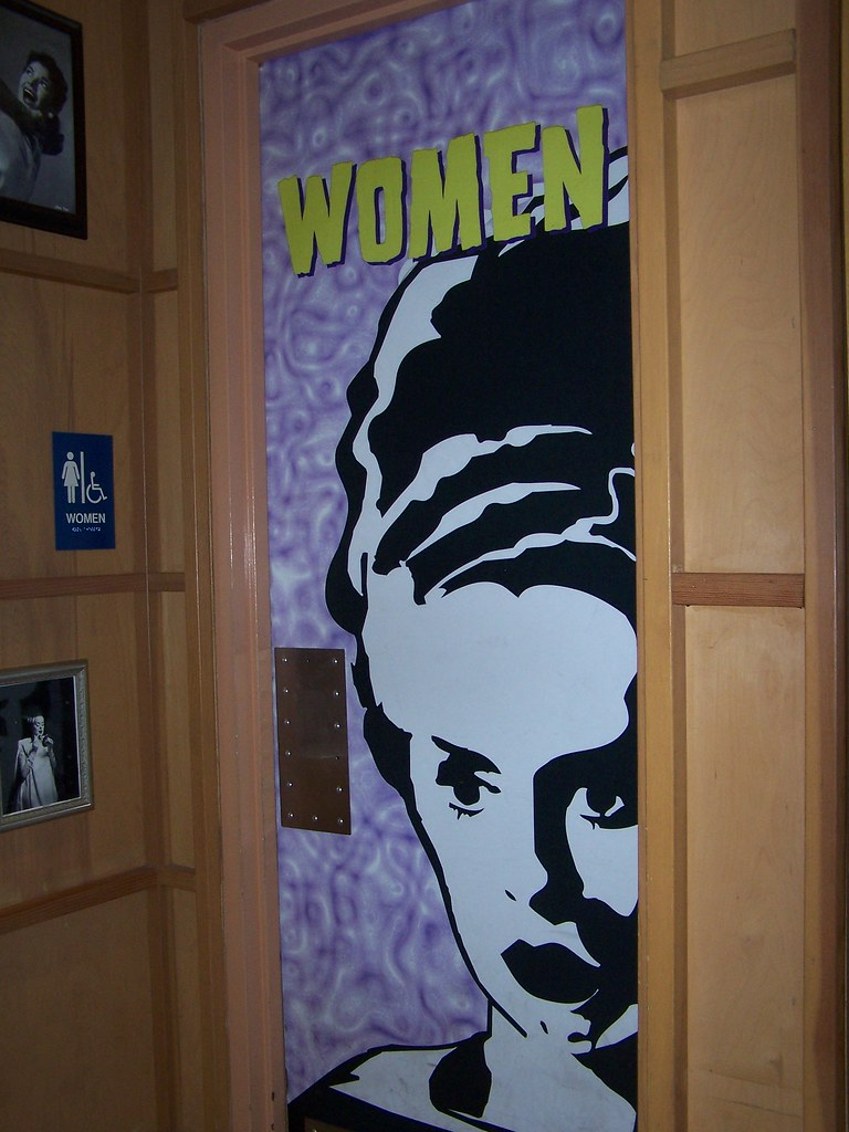Bride Of Frankenstein Bathroom Door Monster S Cafe Uni