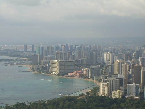 A view of Waikiki from Diamondhead | by neighborhoods.org