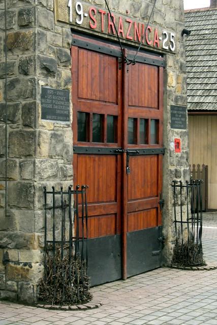 Wrota remizy / Fire station gate