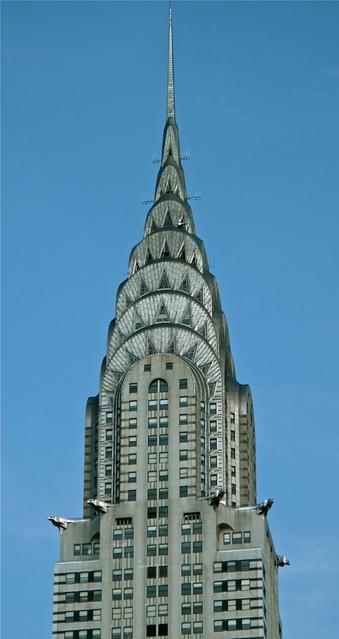 Grille and gargoyles, Chrysler Building