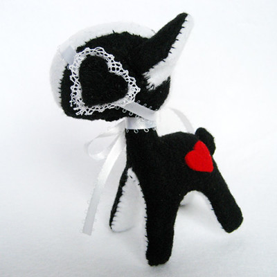 Baby Gothic Lolita Deer | by Emily Bee ♥ Follow The White Rabbit