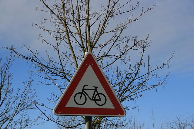 Bike Path in Radeberg