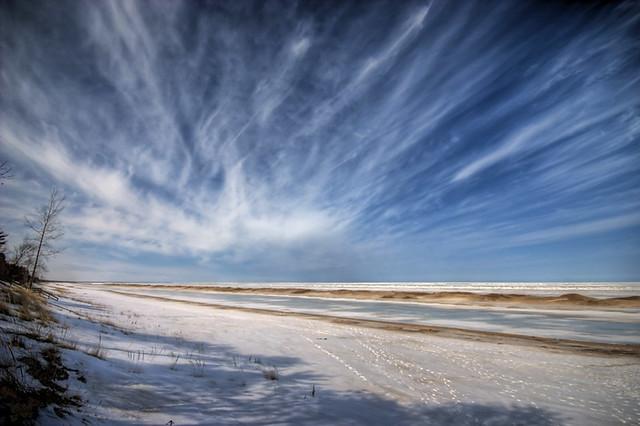 Lake Huron Winter HDR*