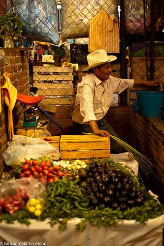El puesto de Don Pedro  (The stand of Don Pedro)