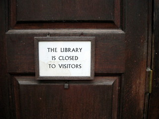 Library is Closed | by littlestar19