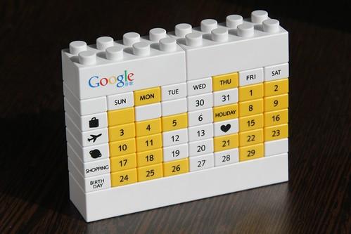 google lego calendar | by keso