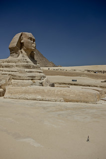 Sphinx, Giza   by cliff.hellis