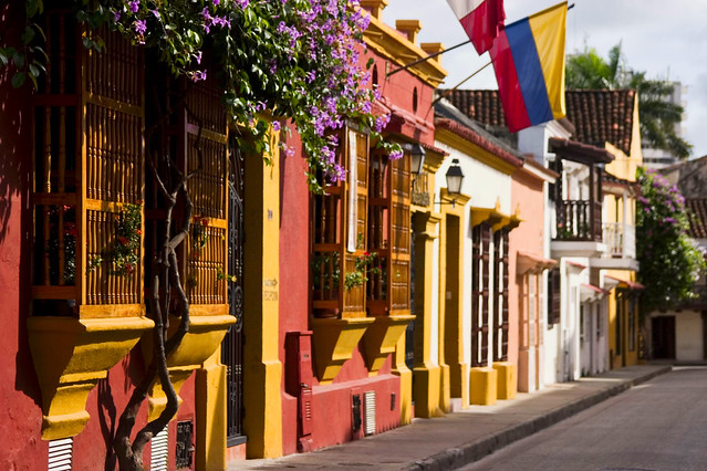 Cartagena - Facades - Flowers