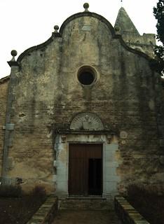 Esglesia de Sant Dalmai (costat tenebrós)