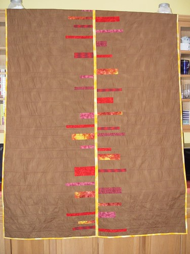 Horizons Quilt Front   by sarybow