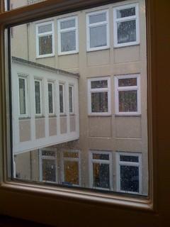 Schnee in Bielefeld, Karl-Eilers-Straße | by Pixelkönig