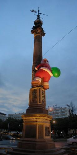 Obelisco A Coruña en Navidad | by carlossg