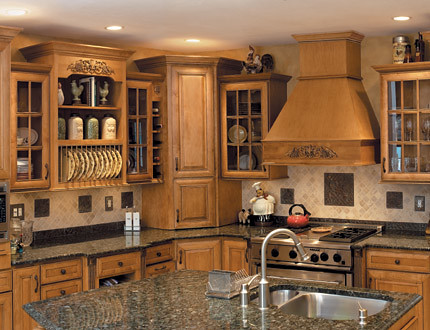 Gourmet Kitchen Cabinets - Fieldstone Cabinetry | This kitch ...