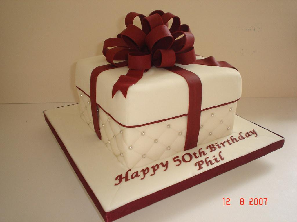 50th Birthday Gift Box