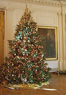 Christmas Tree (East Reception Room, White House) | by catface3