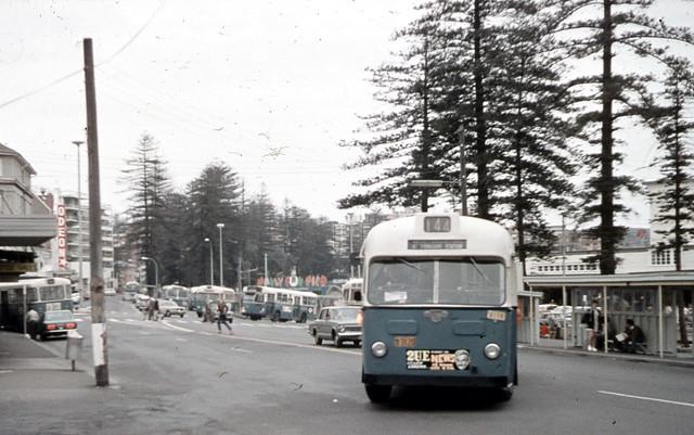 1973 MANLY WHARF