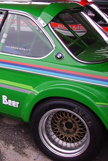 Voiture de course BMW