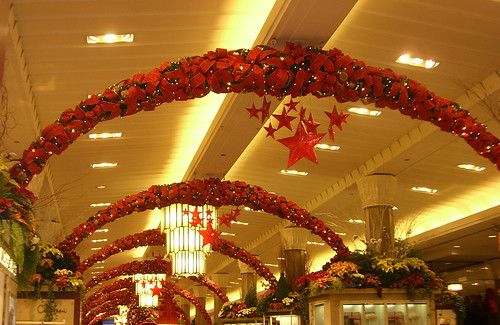 Holiday decorations in Macy's, New York City | by Between a Rock