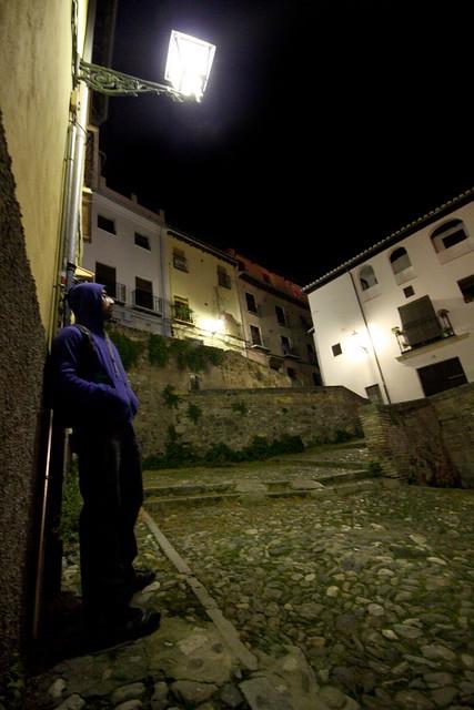Alan, on the streets of Granada.