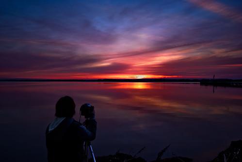 sunset lightroom sigma1020mm rondeauprovincialpark southwestontario bobwest k10d rondeaubay