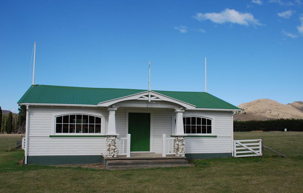 Rugby club rooms, Ward, Marlborough, New Zealand, 13 April