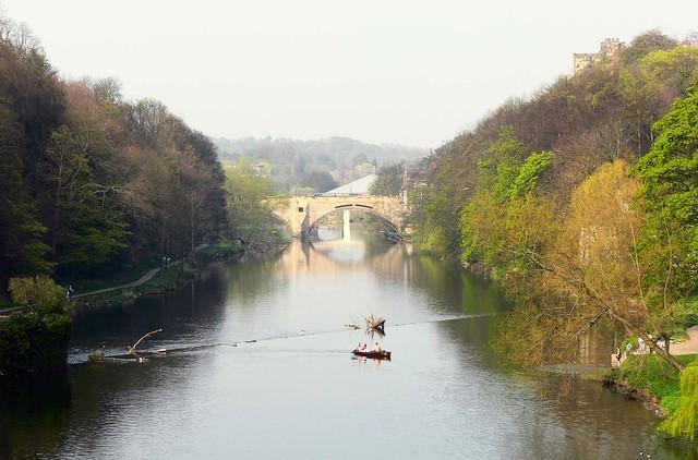Durham River and Bridge