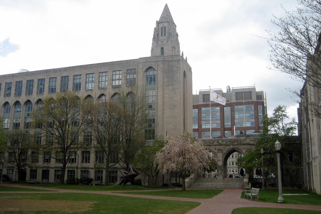 Boston - Boston University: Warren Alpert Mall | Warren Alpe… | Flickr