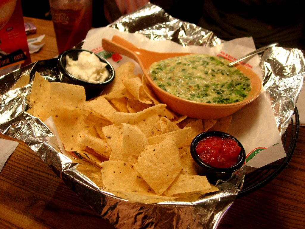 Appetizer Applebee S 04 16 07 Spinach Artichoke Dip Flickr