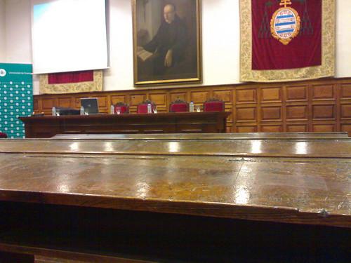 Oviedo. Aula magna.