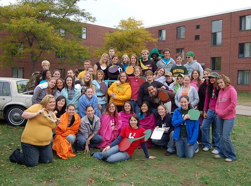 Halverson Hall's Parade Crew