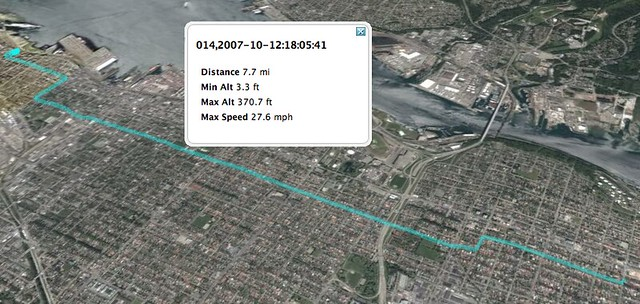 My Bike Route Home (Sort Of)