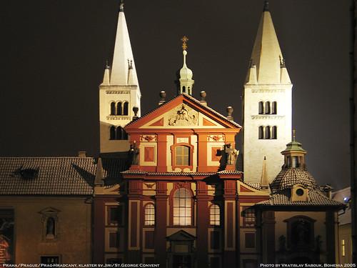 Praha/Prague/Prag-Hradcany, klaster sv.Jiri