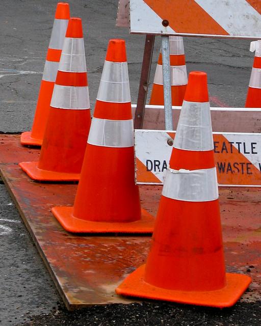 6 Traffic Cones