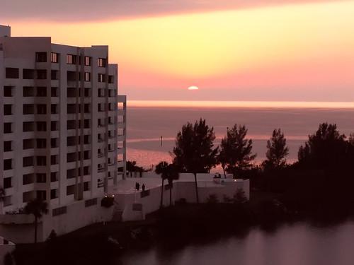 ocean sunset beach gulfofmexico water mexico coast gulf florida fl hudsonbeach hudsonfl