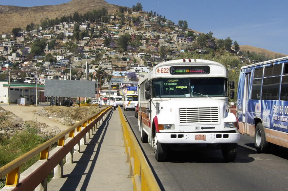 Oaxaca, Mexico -- crossing bridge to climb hill | Photo Numb… | Flickr