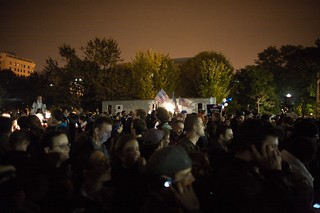 obama-elected-Obama elected, crowds gather at White House | by wiredbike
