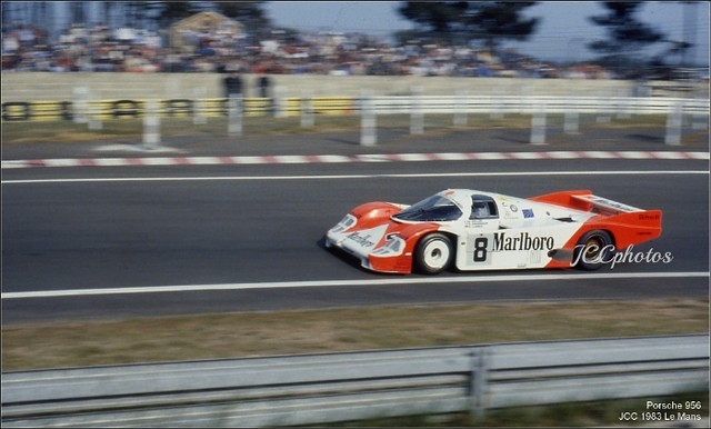 24 Heures du Mans 1983 Porsche 956