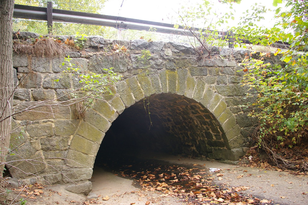 Twin stone arch culvert, just east of Ellicott City, Maryl