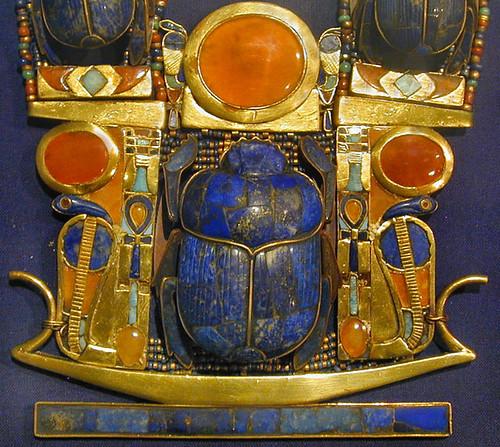 Bijou de la tombe de Toutânkhamon (musée du Caire /Egypte)