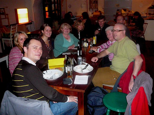 Glasgow Vegan Network, November meet-up at Mono