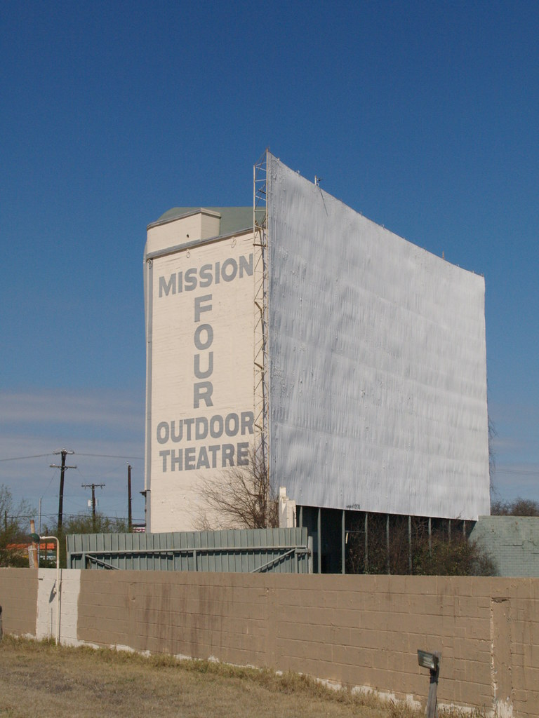 San Antonio Texas Mission 4 Outdoor Theaters Drive In Movi Flickr