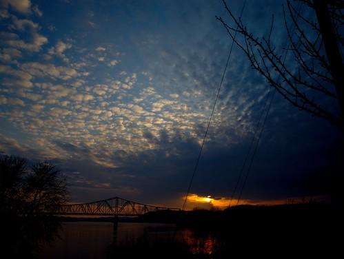sunset flickr olympus ohioriver sciotoriver e510 kingarthur10 arthurbogardgmailcom