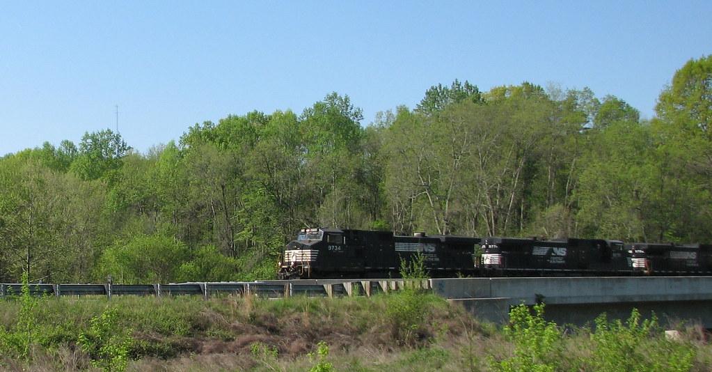 Norfolk Southern Mayo River NC SP 9649