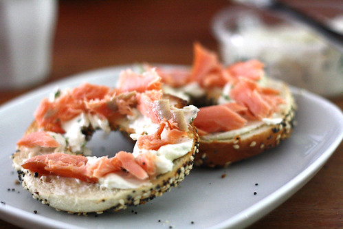 Eltana bagels with Cape Cleare smoked salmon | by eselcee