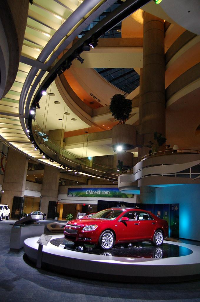 Incredible Gm Showroom Floor In Renaissance Center Detroit 2008 233 N Download Free Architecture Designs Scobabritishbridgeorg