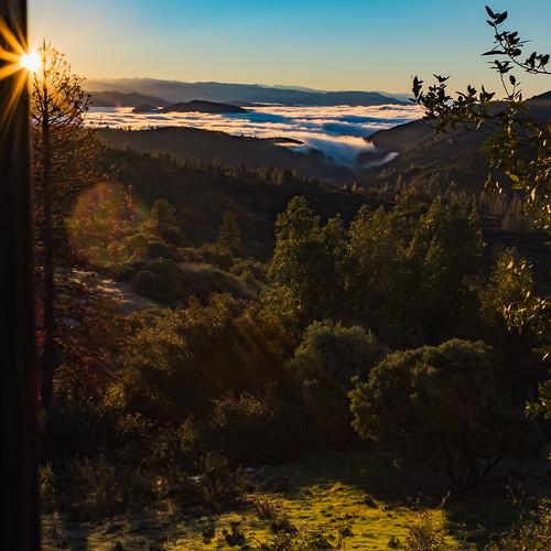 auberry california unitedstates us mountains sunrise sierranevada